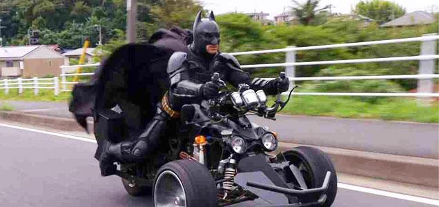 成れる英雄 チバットマン。
