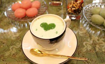 【皆来文書】~COOKPADで作ってみました~ 新茶の季節に プルッとおいしい抹茶プリン