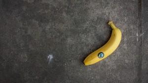 【レ・ロマネスク】『ジュテームのコリーダ』…バナナで健康に♪でも、ポイ捨ては御ノンノンヌ。